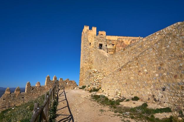 Zamek xivert w alcala de chivert castellon