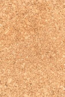 Zamknij powierzchnię i teksturę powierzchni drewna z płyty korkowej, produkt przemysłowy natury