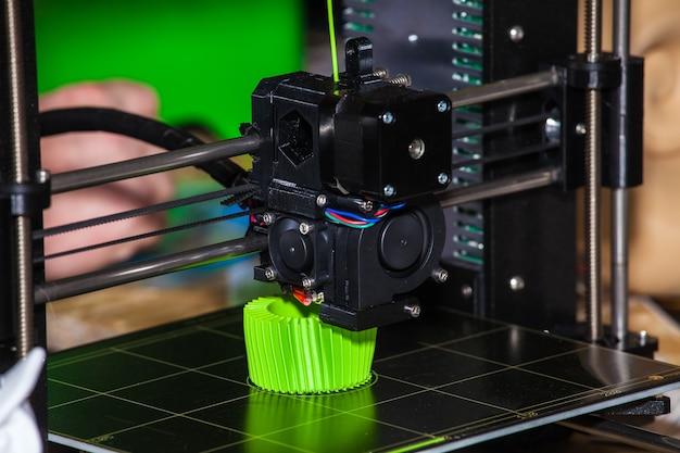 Zamknij proces nowej technologii druku
