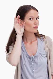Zamknij się kobieta słucha uważnie