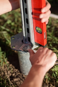 Zamknij widok instalacji śrubowych pali śrubowych.