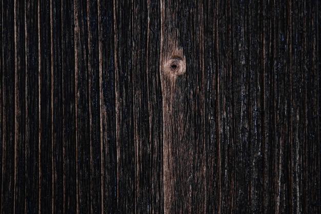 Zamyka up ciemnobrązowa drewniana tekstura z naturalnym pasiastym