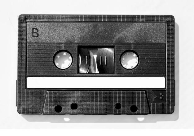 Zamyka up rocznika audio klepnięcie