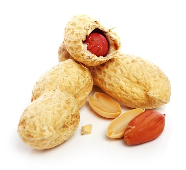 Zamyka up świezi arachidy