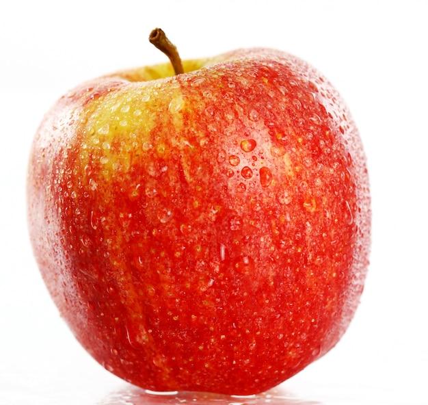 Zamyka up świeży jabłko