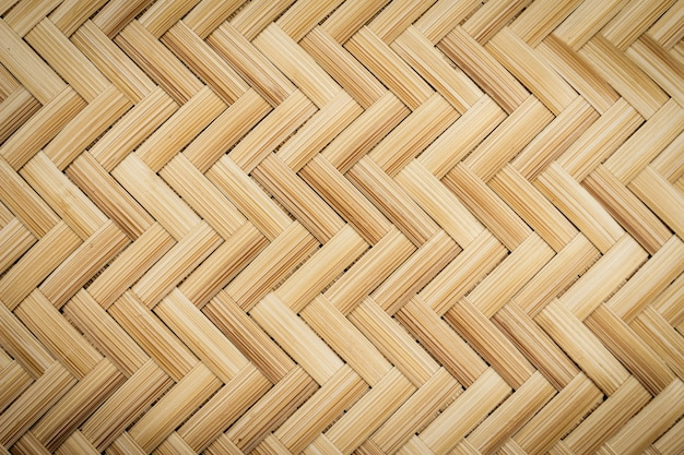 Zamyka up tkany bambus dla tła