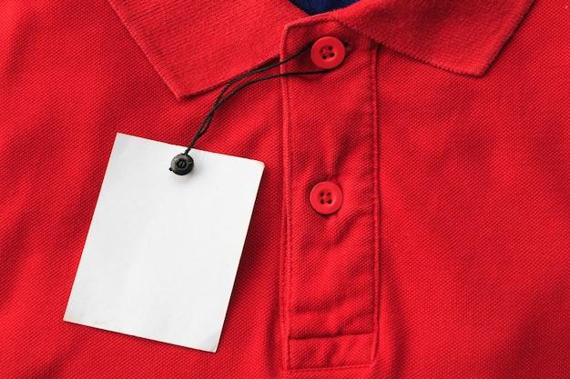 Zamyka w górę odgórnego widoku mężczyzna polo koszula
