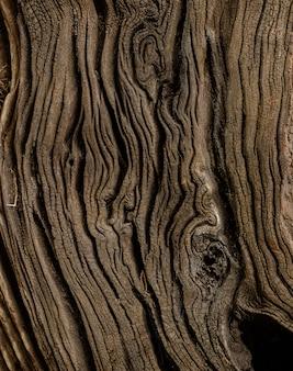 Zamyka w górę starej drewnianej tekstury