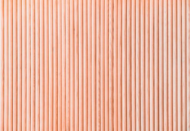 Zaokrąglona drewniana deski ogrodzenia tekstura dla tła