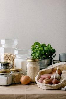 Zapasy żywności na okres kwarantanny