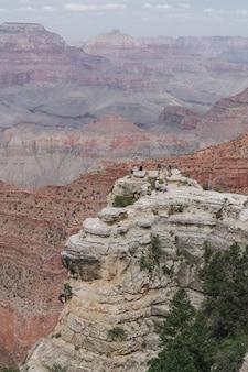 Zapierające dech w piersiach zdjęcie parku narodowego wielkiego kanionu grand usa