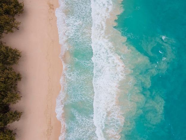 Zapierający Dech W Piersiach Krajobraz Hawajów Z Oceanem Darmowe Zdjęcia