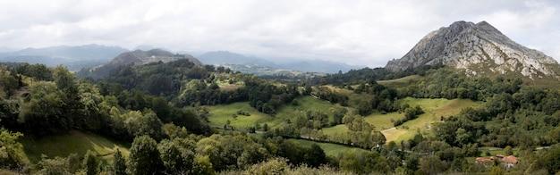Zapierający dech w piersiach widok na piękne góry?