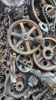 Zaplecze mechaniczne części maszyn