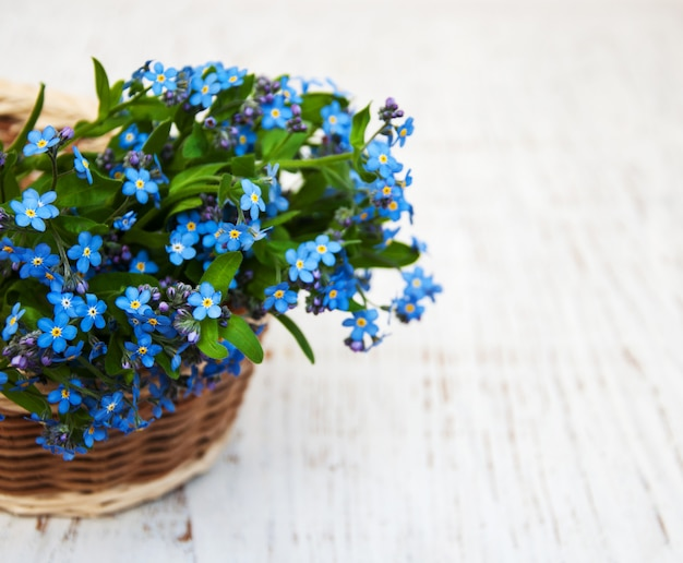 Zapomnij o mnie nie kwiaty