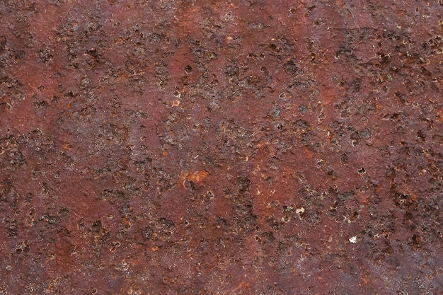 Zardzewiały metal tekstury z pomarańczową korozją