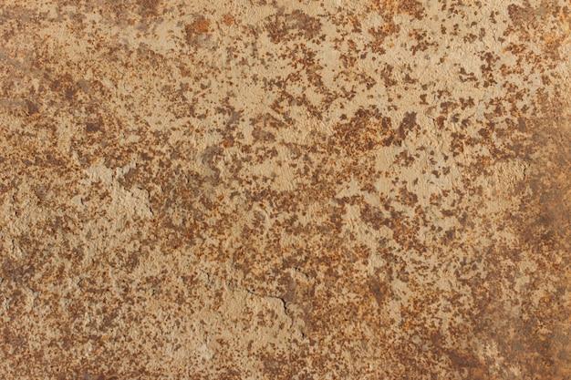Zardzewiały teksturowanej metalowe tło. kopiuj przestrzeń dla projektantów.