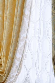 Zasłony okienne, zasłony vintage do mieszkania