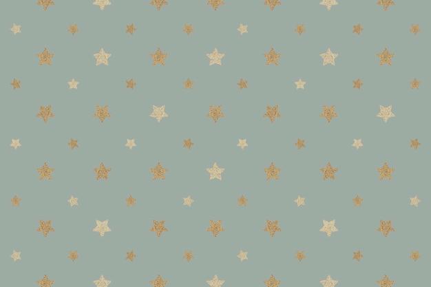 Zasób projektowy tła bez szwu błyszczących złotych gwiazdek