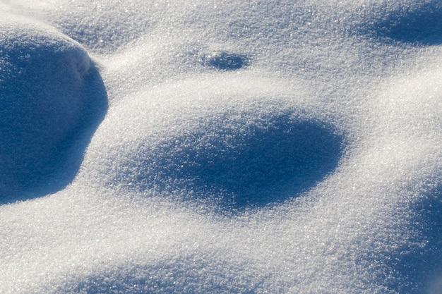 Zaspy śnieżne
