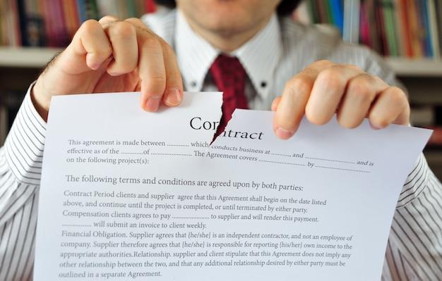 Zawieranie umowy biznesowej