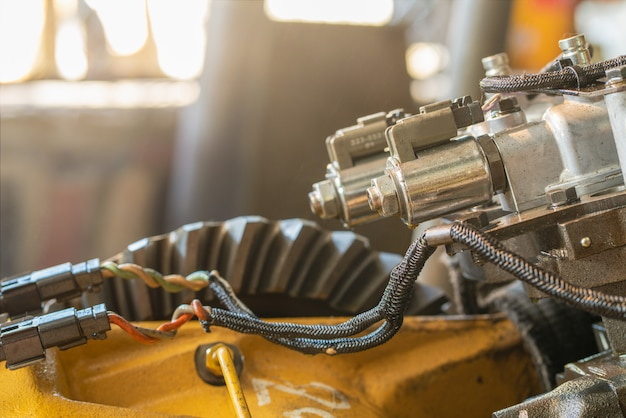 Zawór elektromagnetyczny ciągnika spychacz zaworu sterującego skrzynią biegów