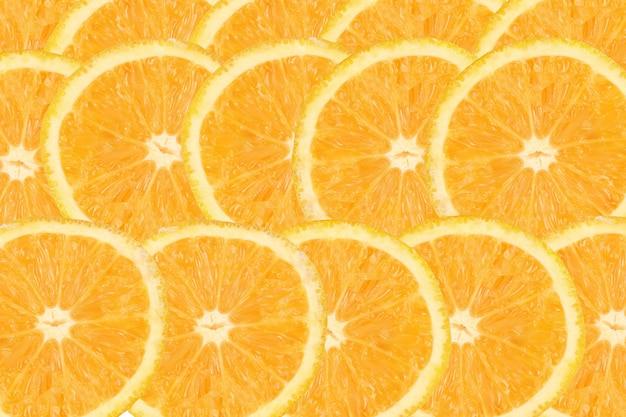 Zbiór pokrojonych owoców cytrusowych o zgrabnym wzorze