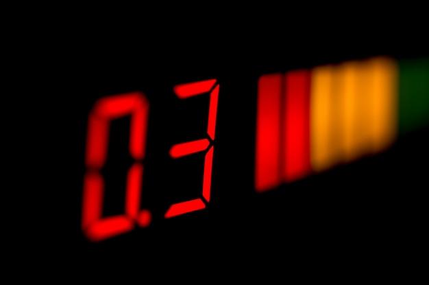 Zbiórka elektroniczna cyfrowy wyświetlacz samochodowy czujnik parkowania z potwierdzeniem odległości