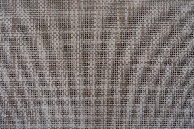 Zbliżenie beżowy i biały kolor tkania tekstury arkusza żywności, abstrakcyjne tło