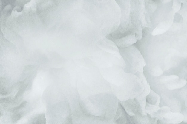 Zbliżenie białego zadymionego abstraktu