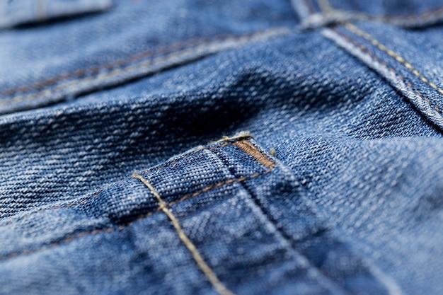 Zbliżenie dżinsów