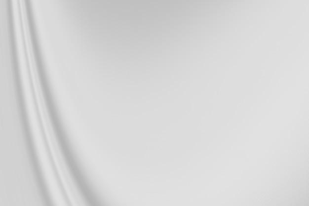 Zbliżenie eleganckie zmięte białe tkaniny jedwabne tło i tekstura. luksusowy projekt tła. obraz.