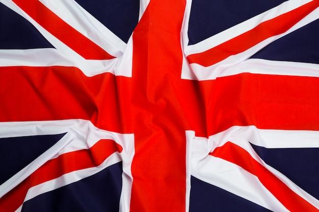 Zbliżenie flaga union jack