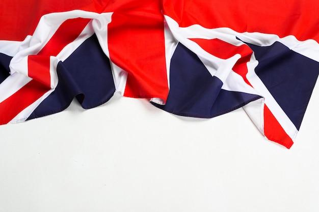 Zbliżenie flagi unii jack