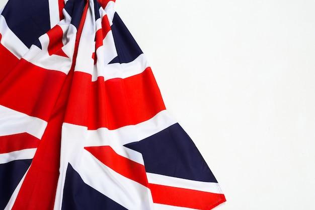 Zbliżenie flagi union jack