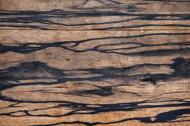 Zbliżenie grunge puste drewniane tło