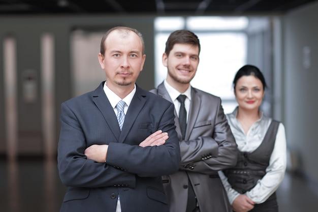 Zbliżenie. grupa ludzi biznesu