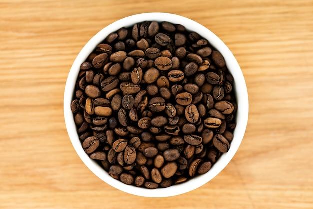 Zbliżenie kawowa fasola