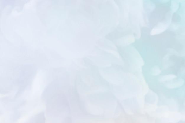 Zbliżenie kolorowej zadymionej abstrakcji