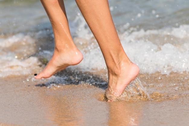 Zbliżenie koncepcji plaży
