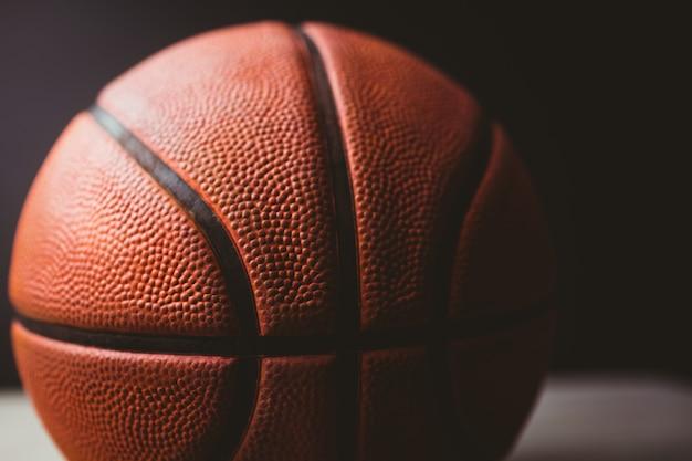 Zbliżenie koszykówki