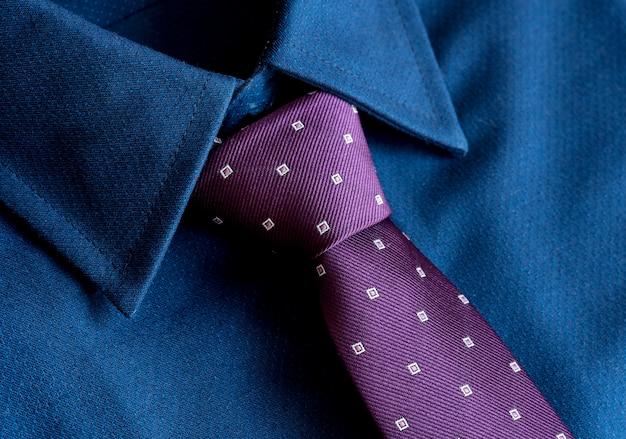 Zbliżenie krawata