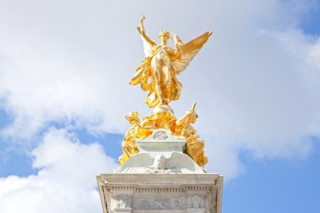 Zbliżenie królowa wiktoria pomnik
