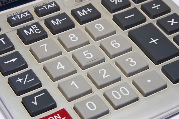 Zbliżenie liczb kalkulatora