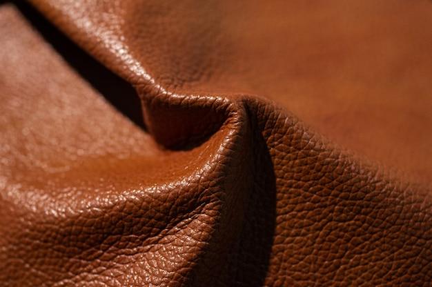Zbliżenie luksusowe próbki skóry