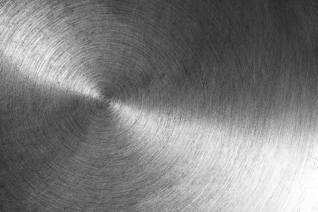 Zbliżenie metaliczne szare tło