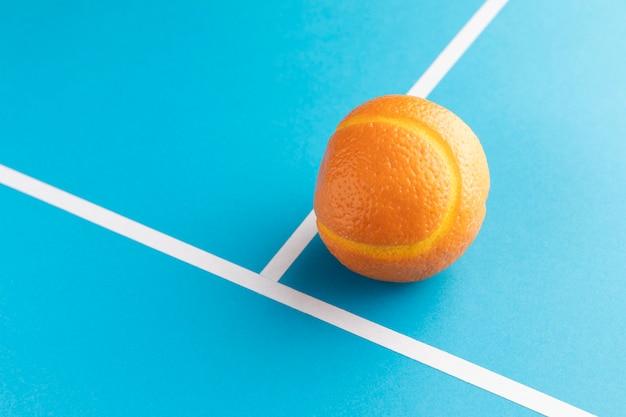 Zbliżenie na dodatki do żywności z pomarańczą