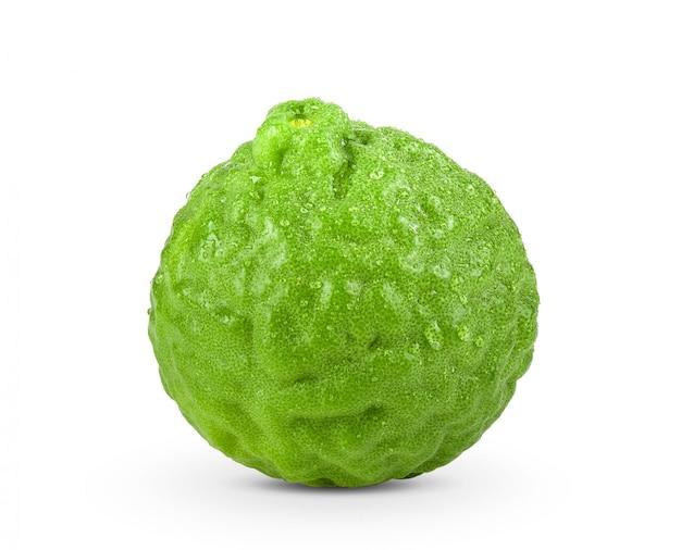 Zbliżenie na pojedyncze owoce bergamotki