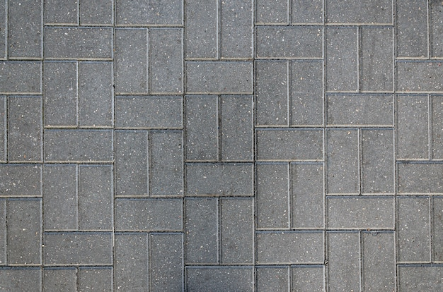 Zbliżenie na tekstury tła płytek chodnikowych
