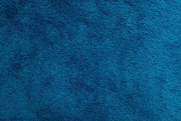Zbliżenie niebieski dywan tło, tapeta